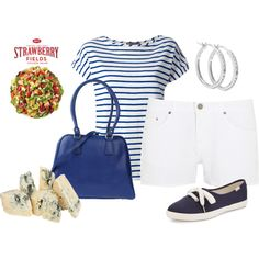 """""""Summer Style & Wendy's® #NewSaladCollection – Pt. 4"""" by sep120 on Polyvore"""