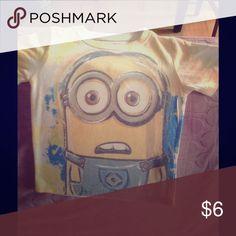 Minion Tshirt Despicable me Minions tshirt Shirts & Tops Tees - Short Sleeve