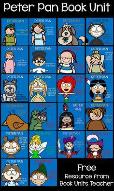 Peter Pan Book Unit ~ Context Clues » Book Units Teacher