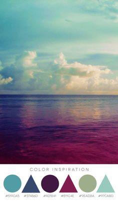 Color Inspiration  Color inspiration