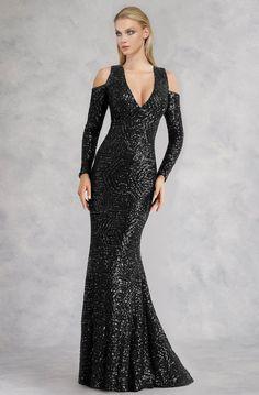Ever-Pretty Womens V Neck Short Flutter Sleeve Floor Length Elegant Evening Dresses with Thigh High Slit 00974