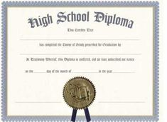 As an event planner you just need a high school education, but having good time management skills and being good with other people makes the job easier. Blank Certificate Template, Certificate Format, Award Template, Printable Certificates, School Certificate, Free High School Diploma, High Diploma, High School Equivalency