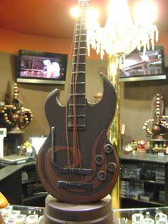 Kytara * čokoláda