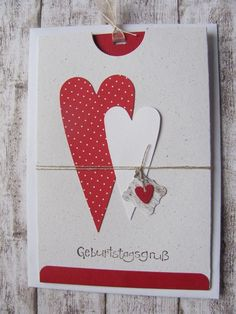 Ziehkarte von Mein Kartengarten auf DaWanda.com