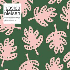 nature, leaf, plant, botanical - pattern by Jessica Nielsen