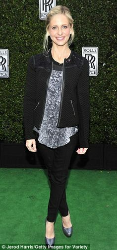 Sarah Michelle Gellar (2013 Variety Awards Studio)