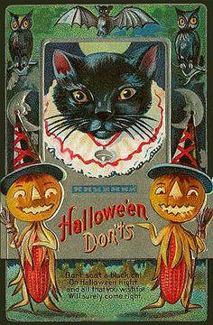 Vintage Halloween Postcard | Vintage Boo!