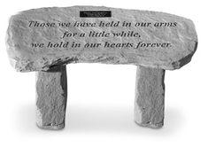 Memorial Garden Bench: Those We Have Held