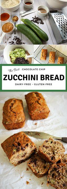 Gluten-Free~Dairy-Free Zucchini Bread