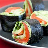 Smoked Salmon Nori Rolls - Dr. Weil's Healthy Kitchen