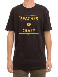 Rusty Beaches T Shirt | #rusty www.surfride.com