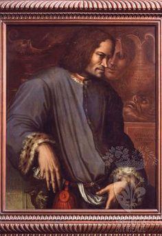 Giorgio Vasari - Ritratto di Lorenzo il Magnifico - 1533 -1534 - Firenze - Galleria degli Uffizi