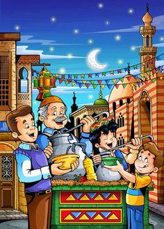 Bon Ramadan, Ramadan Cards, Ramadan Images, Ramadan Sweets, Ramadan Tips, Ramadan Activities, Ramadan Poster, Kairo, Eid Crafts