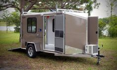 Cargo Trailer Conversion, Cargo Trailers, Recreational Vehicles, Champion, Backpacking, Rv, Camper, Sports, Motorcycle