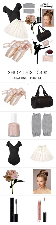 """""""The Beauty Of Pointe 🌹"""" by parislove05 ❤ liked on Polyvore featuring Sweaty Betty, Essie, injury, NOVICA, Ballet Beautiful, Abigail Ahern, Prada, Gucci and Anastasia Beverly Hills"""