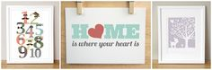 love the 'Home is where the heart is'