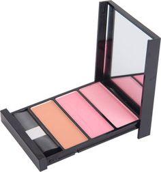 Rubor 3 tonos. Dale a tus mejillas color y vida! http://jaykay.openshopen.com.pa/c:menu-1/c:clap