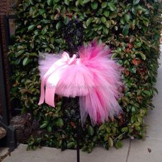 Pink Flamingo Tutu / Flamingo Halloween by KatieDsCreations