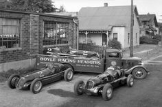 Boyle Racing Headquarters Maserati's