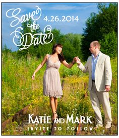 save the dates about $1 per