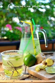 Limonadă cu ghimbir