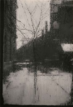 "* De la série, ""Fenêtre de mon Studio ' Alfred Stieglitz"