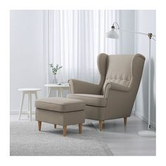 Entzuckend IKEA STRANDMON Wing Chair 10 Year Guarantee. Read About The Terms In The  Guarantee Brochure