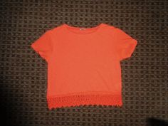 River island #girls #t-shirt crop top age 8-9-10-11 #summer neon lace crop top ,  View more on the LINK: http://www.zeppy.io/product/gb/2/351973402256/