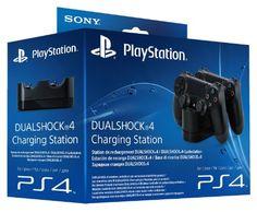 Sony - Dualshock 4 Charging Station (PS4) #Videojuegos