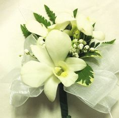 Orchid Corsage. Flower Expressions Florist.   Your Friendly Vancouver Florist!(604)327-8776 http://www.flowerexpressions.ca/