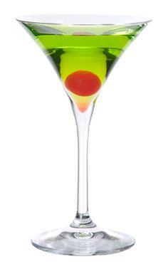 Emerald Martini - Midori and Skyy Vodka