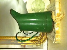 French enamel pitcher found in Paris flea market. A French Apartment...