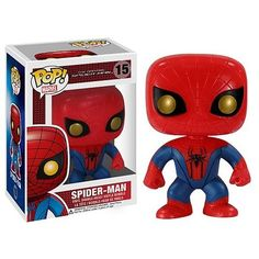 'Amazing Spider-Man Movie Pop! Vinyl Bobble Head' is going up for auction at  6pm Mon, Nov 26 with a starting bid of $6.