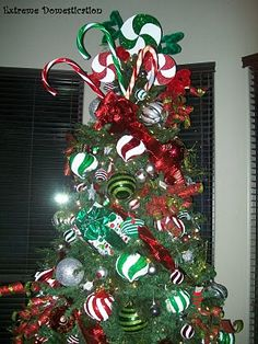 Candy themed tree