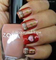 LACQUERED TIPS: Valentine #nail #nails #nailart