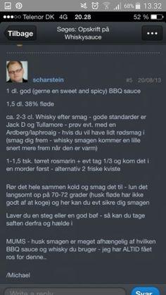 Whiskysauce