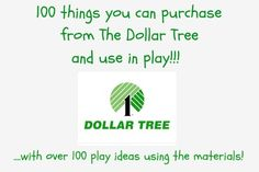 dollar store buys inexpensive fun play ideas some are great others I would never use or I would swap out because of the chemicals in them.