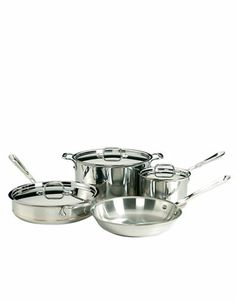 7 Piece Stainless Steel Copper Core Cookware | Hudson's Bay
