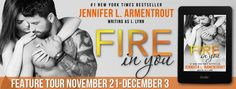 Tome Tender: Feature Tour for FIRE IN YOU by Jennifer L. Arment...
