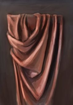 Speed Paint - Drapery Study by Art-by-Smitty on DeviantArt Speed Paint - Drapery Study by Art-by-Smitty Drapery Drawing, Fabric Drawing, Fabric Painting, Monochromatic Paintings, Monochrome Painting, Art Tutorials, Drawing Tutorials, Object Drawing, Realistic Paintings