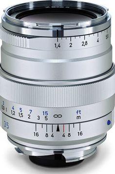 Zeiss Announces 35mm f/1.4 Distagon T* ZM Lens for M-Mount Rangefinder Cameras - EIN News