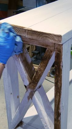Diy Wood Projects Discover Painted Furniture Distressing Technique In this video learn how to a painted furniture distressing technique using dark wax. This easy DIY project makes any painted furniture look like a rare vintage piece.