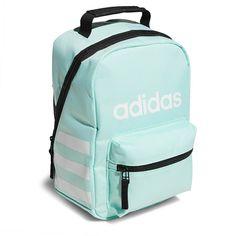 d0d8bf24659b Adidas Santiago Lunch Bag Accessories (Mint Green Black) Adidas Backpack