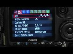 Advanced Tips for Canon EOS 40D : Canon EOS 40D: Exposure Bracketing