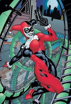 Harley Quinn by the Dodsons. Awesome work.
