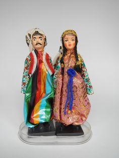 Turkey | Turkish dolls in Ottoman dress