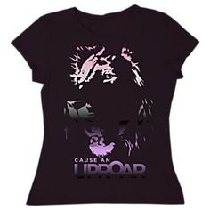 Women's ''Cause An Uproar'' Lion T-Shirt - Money goes to save big cats