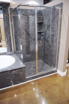 Incroyable 2 Wall Tub Shower Combo (Cultured Marble