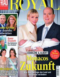 2015: Fürstenfamilie von Monaco