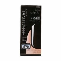 Sensationail Color Gel Polish Midnight Rendezvous 71681 025 Fl Oz by CoCoShop * Click image for more details.Note:It is affiliate link to Amazon.